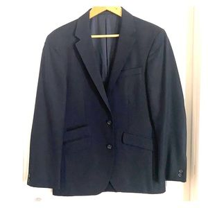 Navy blazer 38s, functioning sleeve buttons